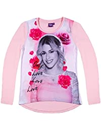 Disney Violetta Chicas Camiseta mangas largas 2016 Collection - Rosa
