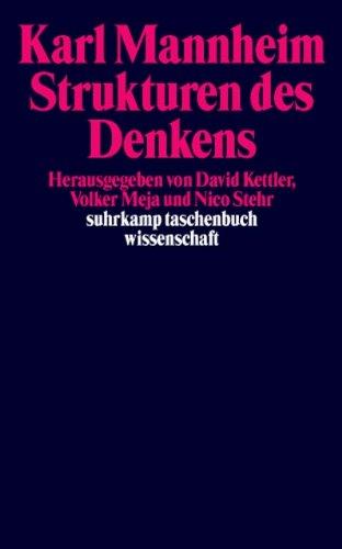 Strukturen des Denkens (suhrkamp taschenbuch wissenschaft)