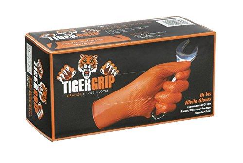Kunzer Nitril Einweghandschuh Größe (Handschuhe): XL EN 374 , EN 455 TIGER GRIP XL 90St.