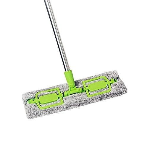 Serpillères en microfibre, c'est de sol Hauteur réglable tête amovible windon Balai de nettoyage