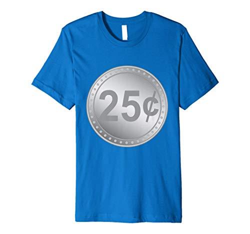 (Gumball Maschine Quarter Paare Halloween-Kostüm T-Shirt)