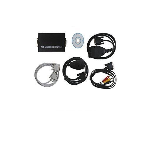 Tragbar Auto Diagnostic Tool MB Carsoft 7.4Multiplexer MCU kontrolliert Interface kann lesen/alle Löschen, Fault Codes mit diesem Gerät, können und auch Lesen ECU Informationen