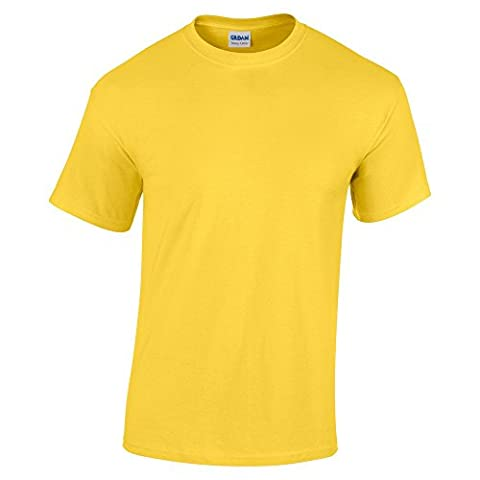 Gildan Heavy Cotton TM Adult T-shirt XXL Daisy Yellow