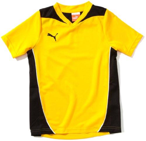 Puma Kinder T-Shirt Foundation Training Tee Trainingsshirt, Team Yellow/Black, 164