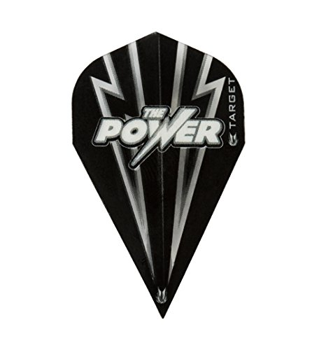 1 x SET PHIL TAYLOR TARGET POWER FLASH schwarz schwarz VAPOR DART FLIGHTS