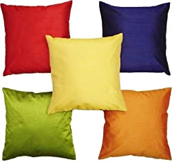 Multi Cushion Covers Set of 5 (12x12 Inch)