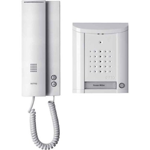 Ritto by Schneider Wired intercom systemWhite