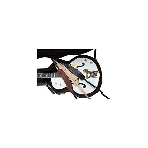 Gretsch 922-0664-050 Vintage Leather Guitar Strap, Walnut