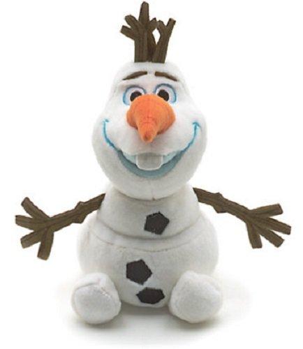Disney store peluche piccolo olaf 20cm frozen il regno di ghiaccio pupazzo di neve originale mini