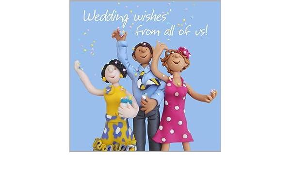 Holy Mackerel Greeting Card Congratulations Wedding