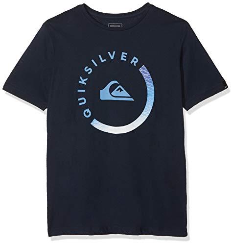Quiksilver Jungen T-Shirt Slab Session, Blau (Navy Blazer BYJ0), 16 Jahre (Herstellergröße: XL/16)