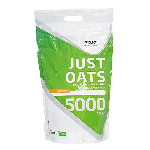 Just Oats Hafervollkornmehl - Instant Hafer-Mehl - Reich an Protein, Kohlenhydrate & Ballaststoffe / 5 kg