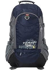 sylzone 40L senderismo Trekking Senderismo Ciclismo Escalada Camping Mochila–Mochila de viaje & School Bolsa de deporte & Mochila Para Mujeres Hombres Niñas Niños, Blue Grey