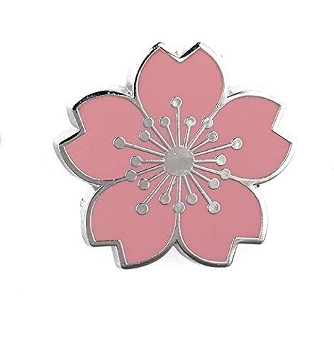 Unisexe Et Hommes Alliage Broche Fleur Fleurs De Cerisier De La Mode élégant Banquet Robe Accessoires,Pink-L