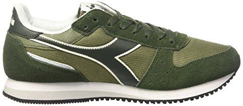 Diadora Malone, Sneaker a Collo Basso Unisex – Adulto Verde (Verde Olivina/Verde Fucile)