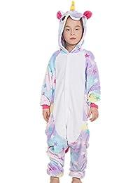 Colorfulworld Pijama de unicornio Cartoon Animal Novedad Navidad Pijama Cosplay