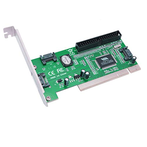Interne Rev-laufwerk (Kongnijiwa Qualitäts PC Tablet Computer 3 Anschlüsse SATA + IDE HDD Serielle ATA PCI Karte Konverter Adapter)