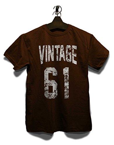 Vintage 1961 T-Shirt Braun