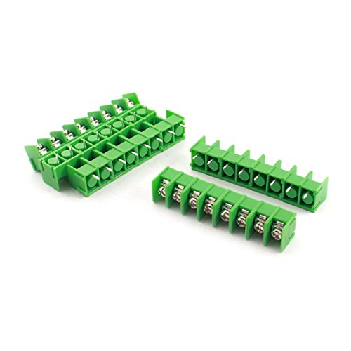 Sourcingmap® Brunswick 7,62 mm Pitch 8 Pin PCB Power Screw Terminal Block Stecker de -