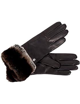 Roeckl Damen Cosy Fur Handschuh Mit Fleecefutter Black