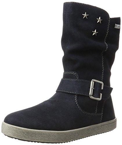 Rieker Kinder Mädchen K5275 Stiefel, Blau (Pilot), 35 EU