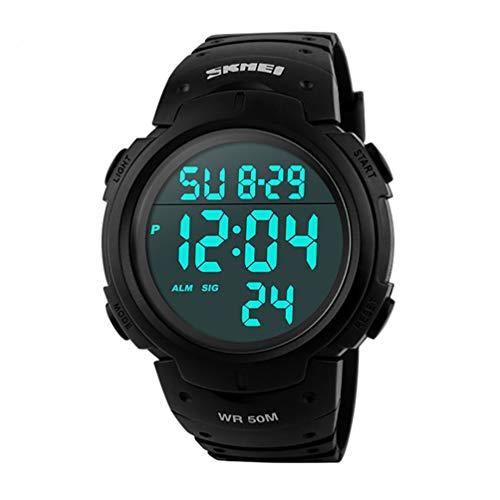 Nueva marca skmeitm pantalla grande Digitial reloj 50m reloj de pulsera deportivo Cool & alarma UK vendedor