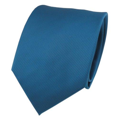 TigerTie - Corbata - turquesa agua azul turquesa monocromo Rips