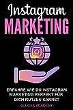 Instagram Marketing : Erfahre wie Du Instagram perfekt für Dich nutzen kannst. Wie Du damit Geld verdienst, passives Einkommen aufbaust und finanziell frei wirst. Kunden für Dein Business.