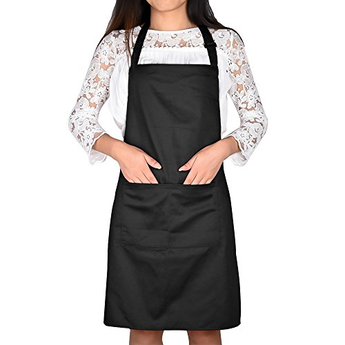 jinberry-classic-unisex-adjustable-apron-with-two-pockects-chef-apron-for-restaurant-bbq-or-kitchen-