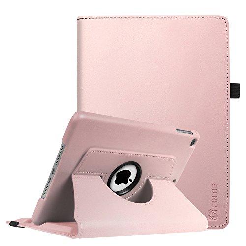 Fintie iPad 9.7 Zoll 2018 2017 / iPad Air Hülle - 360 Grad Rotierend Stand Cover Case Schutzhülle mit Auto Schlaf/Wach Funktion für Apple iPad 9,7'' 2018 2017 / iPad Air 2 / iPad Air, Roségold