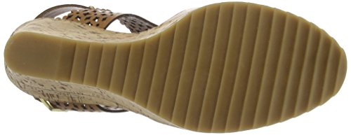 BPrivate E1004X Damen Offene Sandalen Beige (Cuoio)