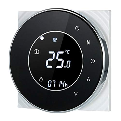 WXGZS Termostato Intelligente Caldaia Digitale dAcqua A Gas Riscaldamento Termostato 220V Prograabile Intelligente di Temperatura Regolatore di