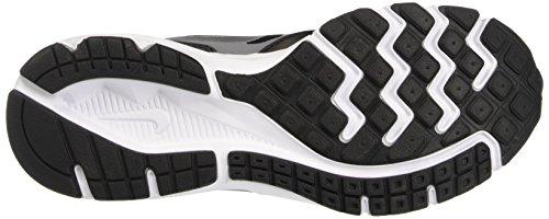 Nike  Downshiffter 6 (Gs/Ps),  Unisex Kinder Hallensportarten Schwarz (Black/Metallic Silver-Cool Grey-White 003)