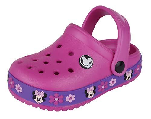 Lil Firestar Kids Girls Toddler Sandals Shoes Clogs_Dark Pink_27EU