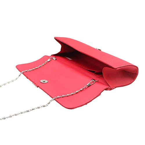 SSMK Evening Bag, Poschette giorno donna Rose