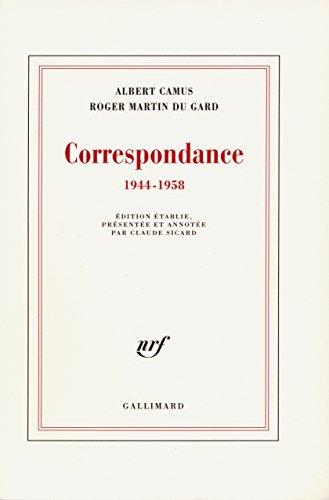 Correspondance (1944-1958): (1944-1958) (Blanche) par Albert Camus