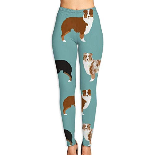 Yogahosen, Trainingsgamaschen,Australian Shepherds Dogs Yoga Pants for Women Sport Tights Workout Running Leggings - 10 Süße Unter Dollar Jeans