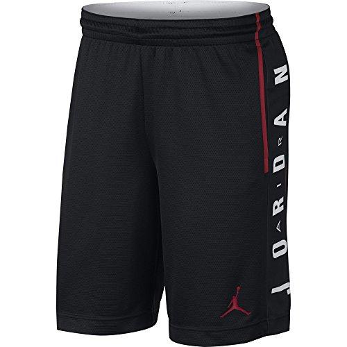 Nike Rise Graphic, Short Uomo, Nero Rosso, S