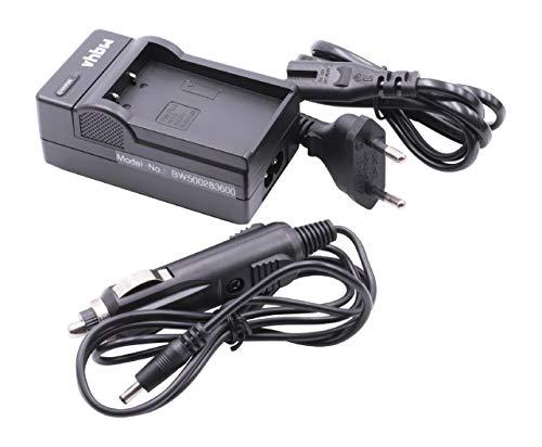 vhbw 220V Ladegerät Ladekabel Netzteil mit Kfz-Lader für FujiFilm FinePix S100, S100FS, S200, S200EXR wie NP-140. S200 Kamera