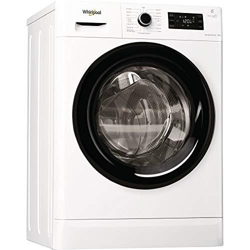 Whirlpool WFR628GWK IT lavatrice Libera installazione Caricamento frontale Bianco 8 kg 1200 Giri/min A+++