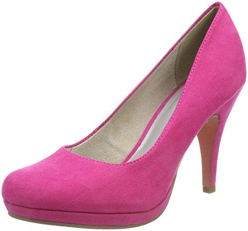 Tamaris Damen 22407 Plateaupumps, Pink, 38 EU