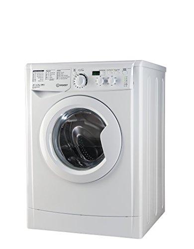 Indesit EWD 71483 W DE Waschmaschine FL / 174 kWh / 1400 UpM / 7 kg / 10840 Liter / MyTime, Schneller als 1 Stunde / Inverter-Motor / leise nur 54 db / Wasserstopp / weiß - 5