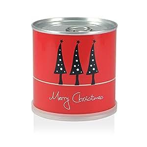 Weihnachtsbaum in der Dose – Merry Christmas Rot