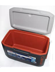 "Kühlbox Coleman ""Xtreme 5 Cooler 70 Qt"" grau/orange (60Liter)"