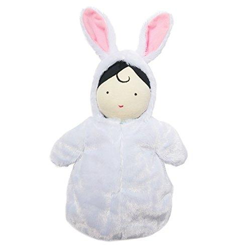 Manhattan Toy-Muñeco de bebé (153560y Conejo con Capucha Saco de Dormir