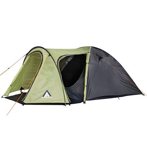 10T Zelt Jumbuck Beechnut 3 Mann Kuppelzelt wasserdichtes Campingzelt 5000mm Igluzelt mit Wohnraum