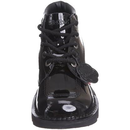 Kickers Women's Kick Hi' Ankle Boots, Black (Black Patent), 8 UK 4