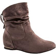 Elara - Botas de mujer | Cómodos botines clásicos | Botas planas