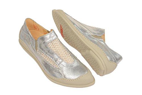 Eject  18176.001 Silver-white, Mocassins pour femme Gris
