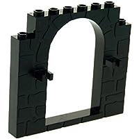 Lego Zaun Tor Tür  2 Stück  schwarz 1 x 3 x 2